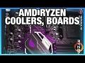 AMD Ryzen Stock Coolers, ASUS X370 Boards, & Die Shot