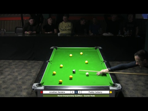 2018 World Championship Qualifiers  Jonathan Sanders v Paddy Carberry