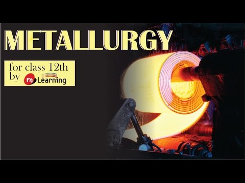 Extraction of Iron: Metallurgy - 01 For Class 12th