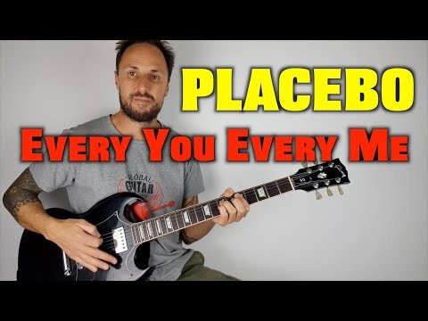 Placebo Every You Every Me Guitar Lesson