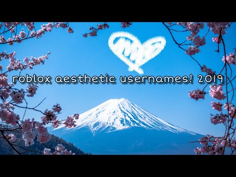 Full Download] Roblox Aesthetic Usernames