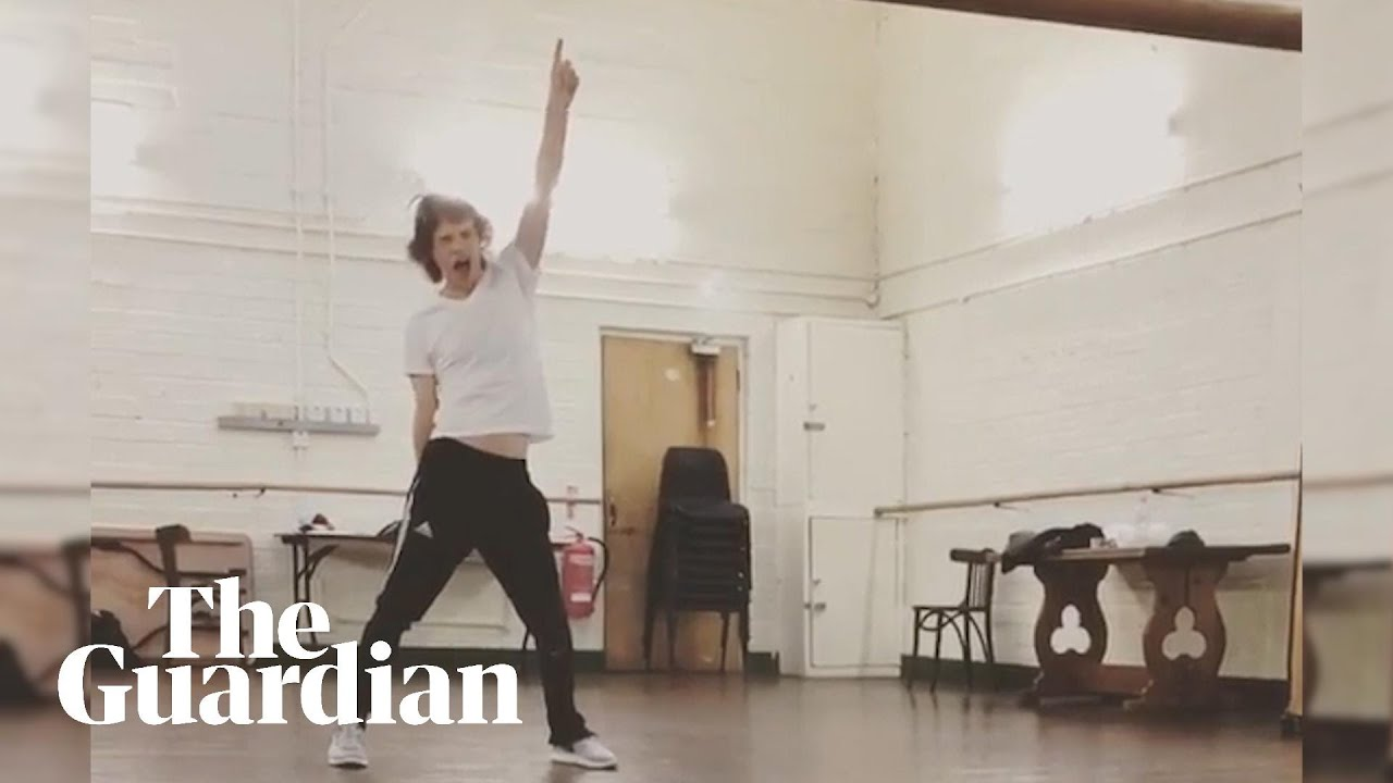 Moves like Mick Jagger     even after heart surgery – video