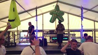 Ellis Dee with Chalkie White @Epidemik Stage, Moondance Festival, 01/07/18