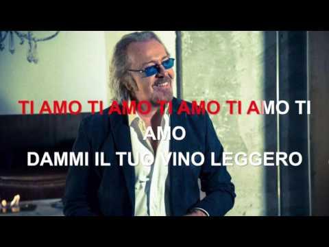 Umberto Tozzi - Ti amo - Karaoke con testo