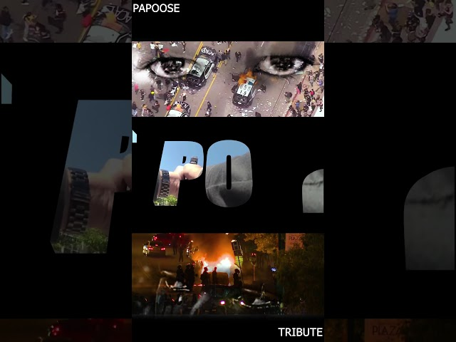 Papoose lyric video to #tribute
