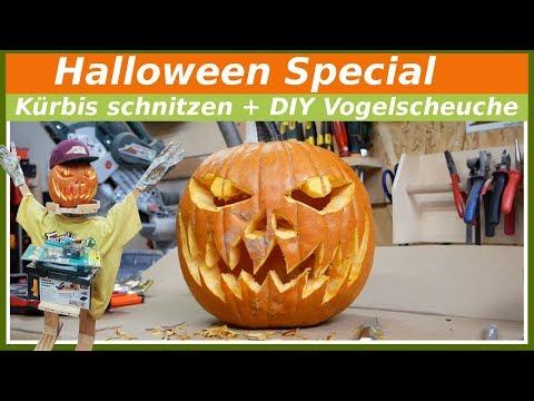 🎃 Kürbis schnitzen + Halloween Ideen für Anfänger! Franks Shed DIY