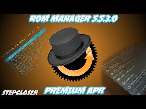 ROM Manager V5.5.3.0 PREMIUM APK [Download Link]