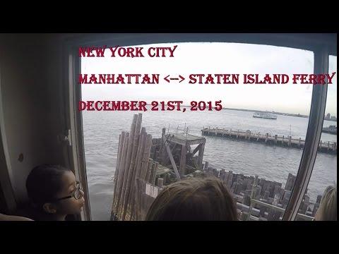 Manhattan Staten Island Ferry 12 21 2015