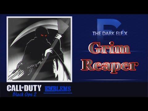 Black Ops 2 Emblem - Grim Reaper