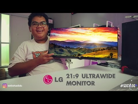 UNBOXING & REVIEW LG 21:9 ULTRAWIDE MONITOR 25UM58-P [INDONESIA]