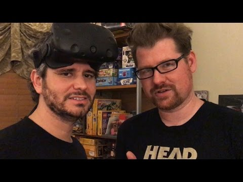 Playing Rick & Morty VR with Justin Roiland