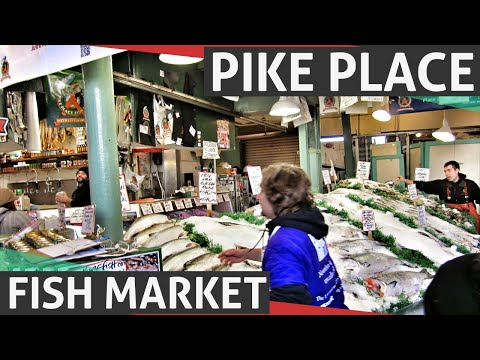 Pike Place Fish Market - World Famous Fish Market in Seattle