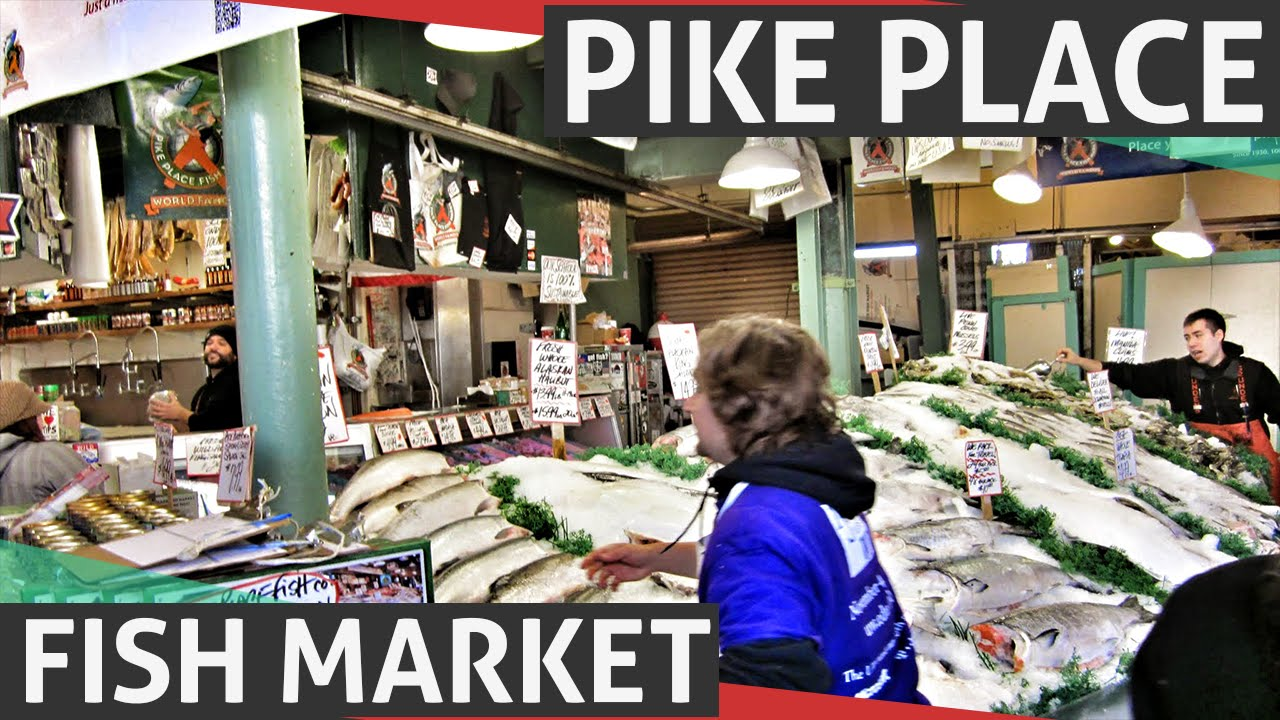 Pike place fish market world famous fish market in for Famous fish market in seattle