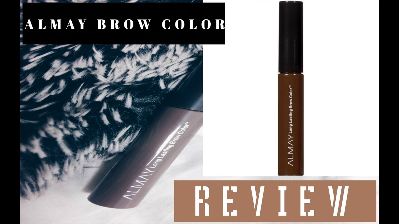 ALMAY Long Lasting Brow Color   REVIEW - YouTube