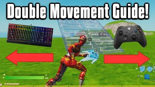The BEST Double Movement Settings In Fortnite! (Wooting/Keys2x)