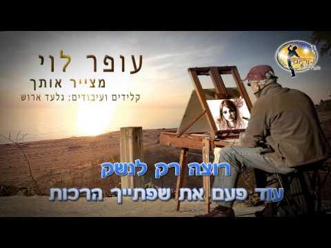 מצייר אותך - עופר לוי - קריוקי ישראלי מזרחי - Ofer Levi Karaoke