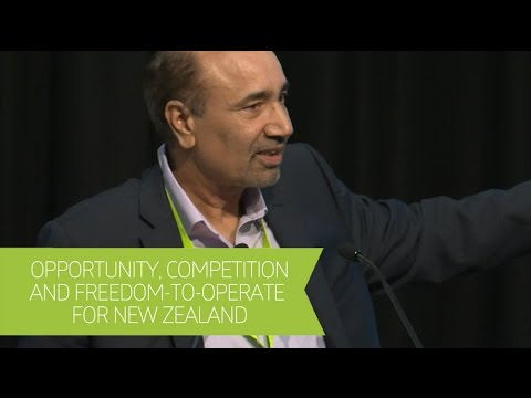 Opportunity, Competition and Freedom-to-Operate for NZ - 2016 High-Value Nutrition Industry Forum