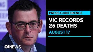 Victoria records highest daily death toll, funding for domestic violence services | ABC News
