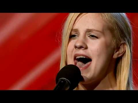 Annsofi Pettersen X-Faktor 2010 - sings Etta James' At last