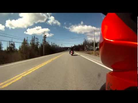 Halifax to Prospect. Nova Scotia Canada. Lynns new V-Star 65