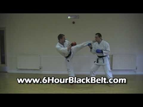 Karate Kumite Sparring Home DVD Course (old)