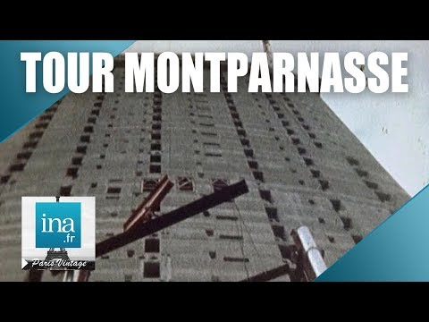 1971 : La construction de la Tour Montparnasse | Archive INA