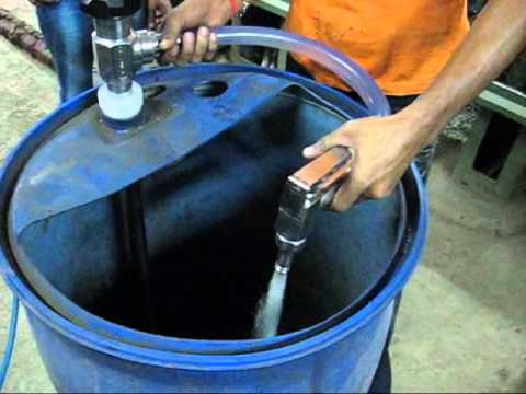 Quot Kijeka Quot S S 316 Pneumatic Barrel Pump Ke 205 Youtube