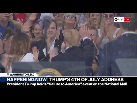 President Trump's 'Salute to America': Watch Live Stream of 4th of July Event