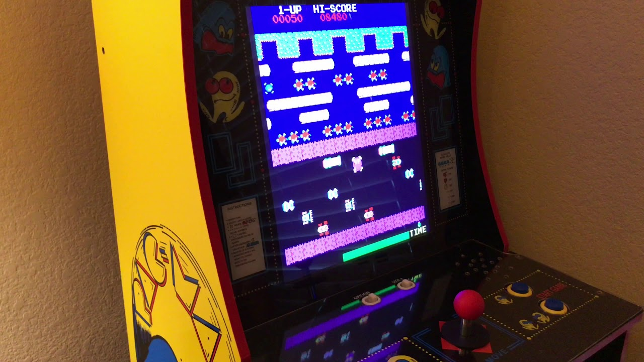 No Need to Drill New Buttons - Arcade1Up Pac-Man Mod