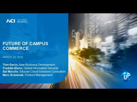 New Insights on the Future of Campus Commerce Webinar On-Demand