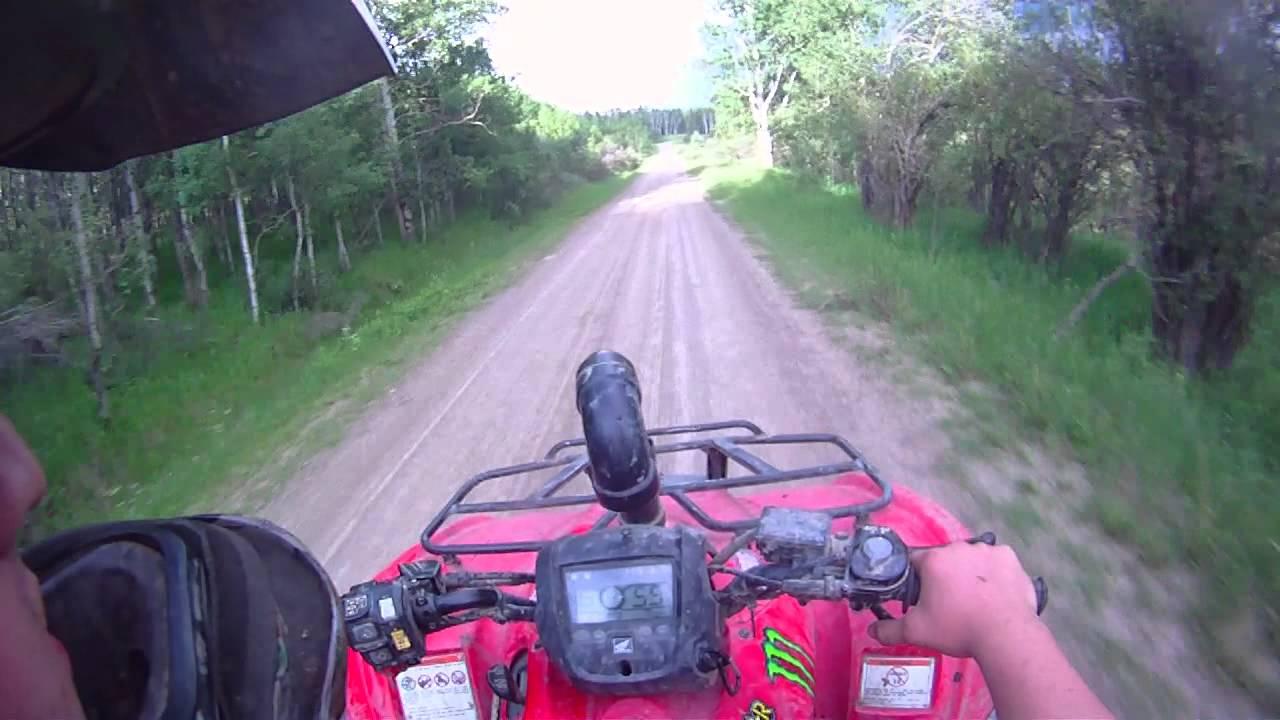 honda rancher 420 hmf exhaust and