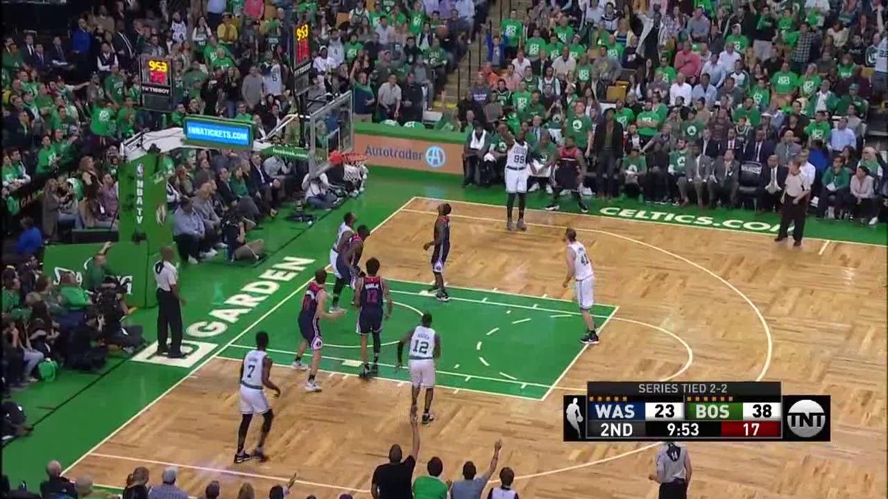 NBA, playoff 2017, Celtics vs. Wizards, Round 2, Game 5 ...