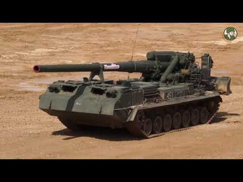 Army 2017 Live Firing Demonstration Russian Army Armed Forces International Military Technical Forum