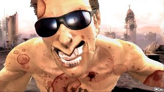 Johnny Cage (Costume 1) Performs All Character Intros & Victory Celebrations on Rooftop Dawn MK9