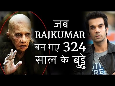 Rajkumar Rao's shocking transformation