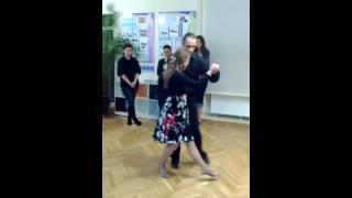 Аргентинское танго. Базовые шаги