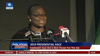 2019 Presidential Race: Ezekwesili Says PDP, APC Fielding
