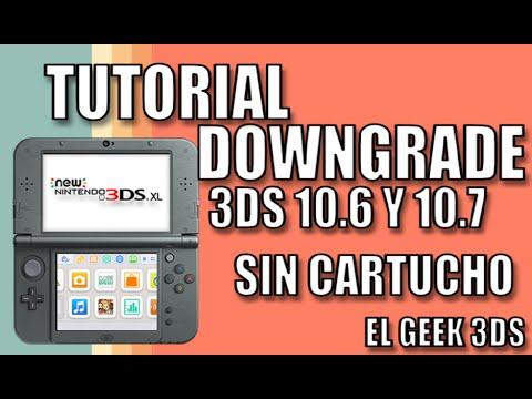TUTORIAL: DOWNGRADE OLD/NEW 3DS 10.7 SIN CARTUCHO (MENUHAX - THEMEHAX)