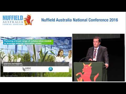 Tobias Marchand, MD Bayer Crop Science Pty Ltd - Recent and Pending Innovations brought to Australia