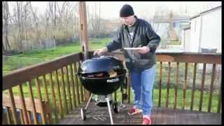 Weber One Touch Gold Portable Charcoal Grill.mp4