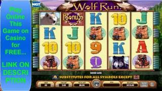 Wolf Run Slot Machine Game Play Hand Pay Jackpot 2016