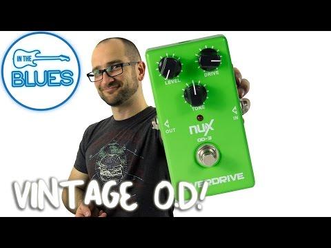 NUX Vintage Overdrive OD-3 Pedal Demo
