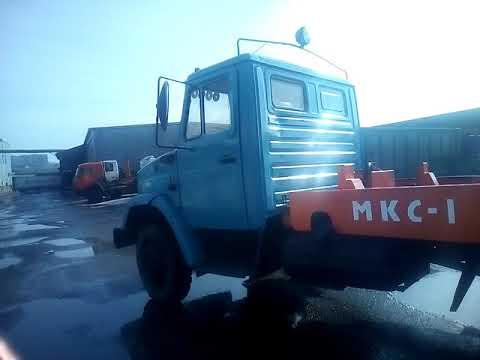 Бункеровоз портальный МКС-1   (2007 г.)   шасси ЗИЛ-433362  бензин