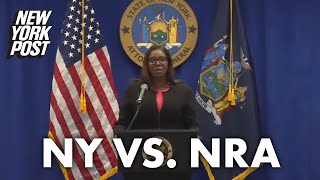 Letitia James sues to break up NRA, says execs used funds for lavish lifestyle | New York Post