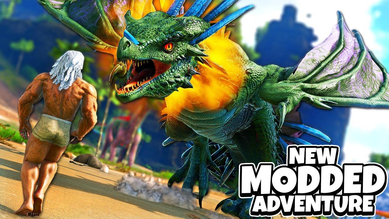 Download A NEW CRAZY MODDED ADVENTURE BEGINS! | ARK MEGA Modded Episode #1