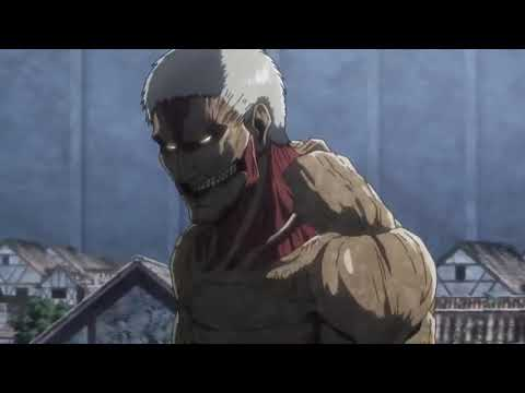 Eren vs Reiner 'Armoured Titan' Round 2 Full Fight | Attack on Titan Season 3 Part 2