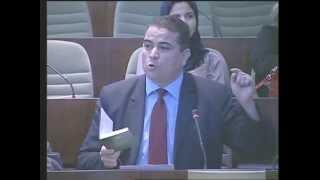 مداخلة أحمد بطاطاش  ،نائب عن جبهة القوى الاشتراكية حول مخطط عمل الحكومة 2014