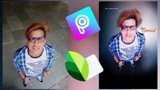 photo editing useing picsart and snapseed|black and white photo editing+hairstyle change