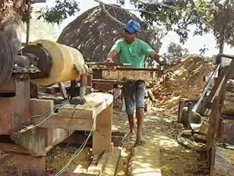 Como fazer pil?o artesanal de madeira com torno. - YouTube