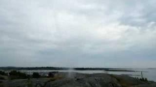 Test av raketmotor #8